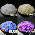 1000pcs/lot Red/Pink/Ivory Party Decorations Many Color Fashion Artificial Polyester Flowers Wholesale Wedding Rose Petals RP1