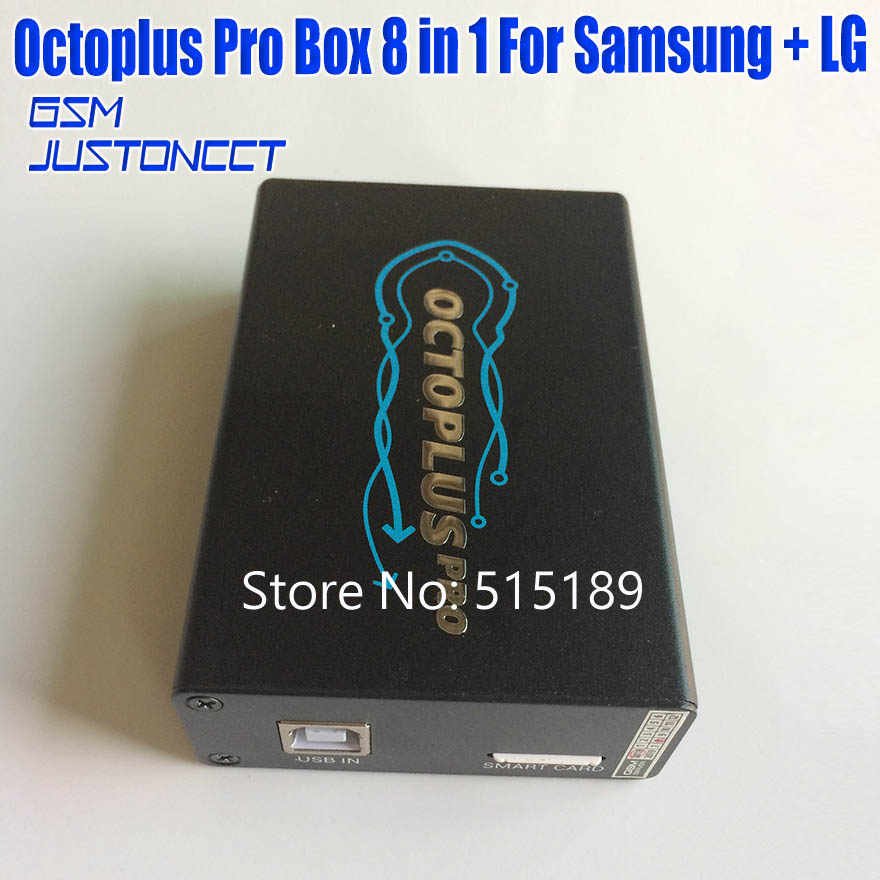 New Version Original octoplus Pro box 8 in 1 set( 5 Cable + eMMC / JTAG  Activated +copper wire ) for Samsung for LG activated