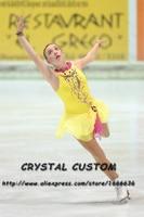 Girls Figure Skating Dresses Graceful New Brand Competition Figure Skating Dress Custom DR4003