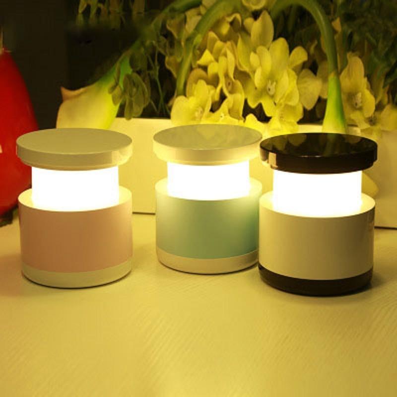 Usb монастырь Мини зарядки светодиодный ночник творческий бытовой лампа для спальни ночного кормления лампы аварийного освещения для детей ...