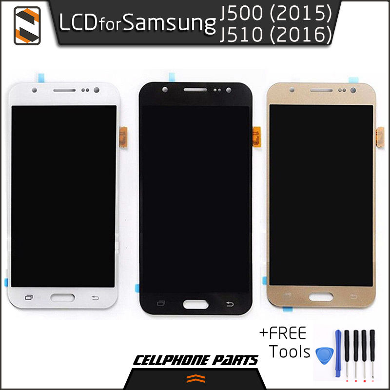 ФОТО LCD for Samsung J5 2015 2016 J500 J500F J500M J500Y J510 J5108 J510F J510FN J510M J510G J510Y LCD Display Touch Screen Digitizer