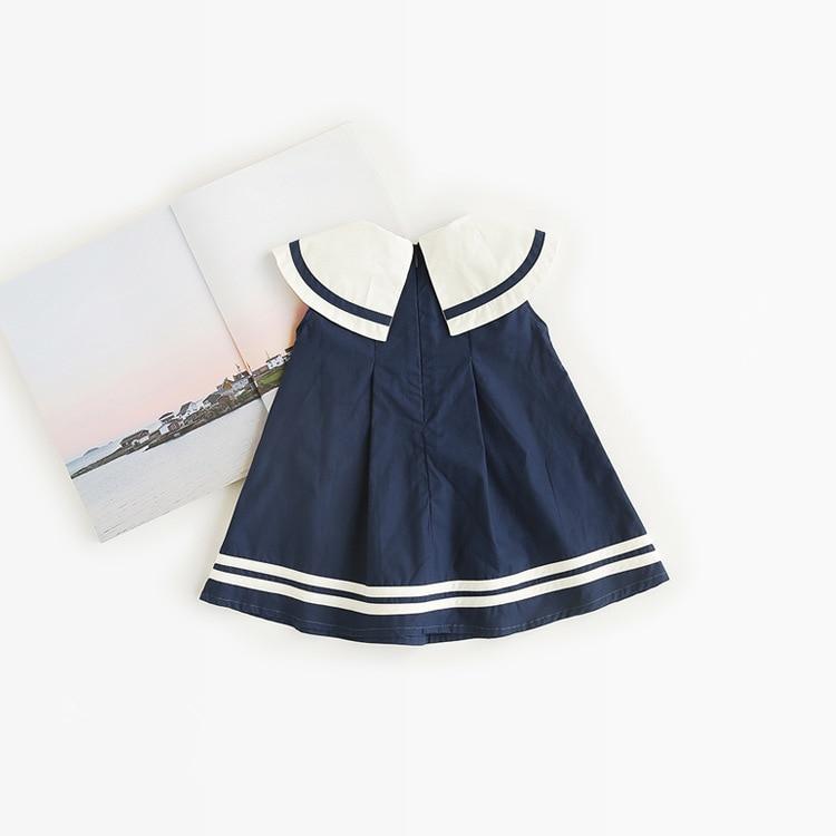 Celveroso nieuwe zomer baby meisje Jurk katoenen strik Baby - Kinderkleding - Foto 3