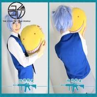 Anime Assassinio Aula Anjin Cosplay Unisex Uniforme (Vest + Camicia Bianca + Tie) one size