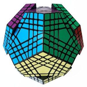 Image 2 - Shengshou Teraminx Cube 7x7 Wumofang 7x7x7 Magic Cube Professional Dodecahedron Cube Twist Puzzle Educational Toys