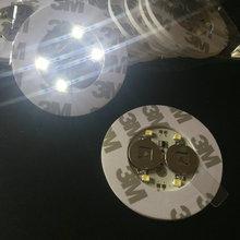50 шт. супер яркий 3 мм 4LED мигает лампочка Бутылка Кубок Коврики coaster LED восхвалителем мини палке для клубы бары партии-белый