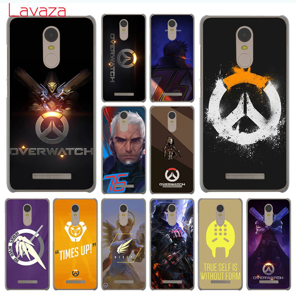 Lavaza Overwatch ow Game Hard Phone Cover Case for Xiaomi Redmi 8A 7A 6A 5A K20 Note 8 8T 7 5 6 Pro 4 4X Cases image