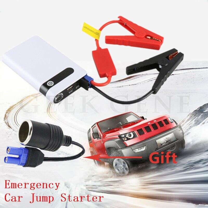 Mini Car Jump Starter 12V Car Charger for Car Battery Booster 12000mAh Starting Device Portable Power Bank Diesel Petrol Lighter