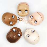 Blyth doll Accessories blyth doll head without makeup dedicated for customize Blythes 5 style skin without eyes chip for diy