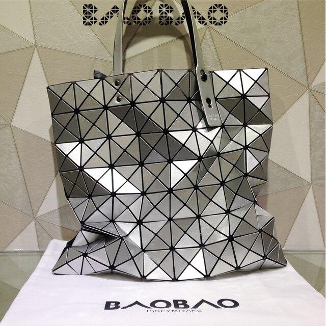 New style BAOBAO laser geometric lozenge bag handbag shoulder bag women s  shoulder bag 8 8 free shipping cf5aa3f714