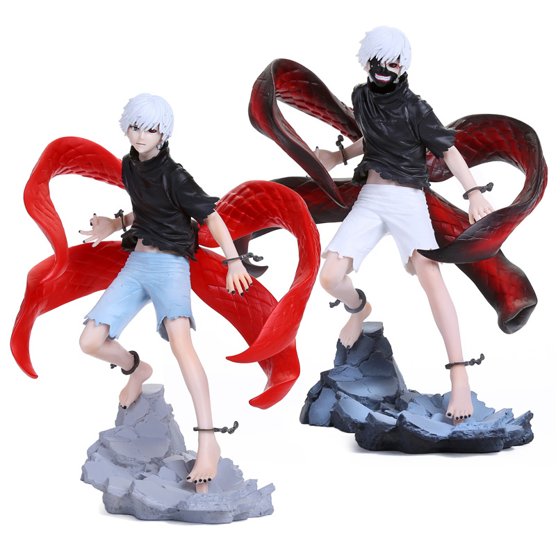 Anime Tokyo Ghoul Kaneki Ken Awakened Toy Figure Figurine Doll New in Retail Box 2 Types 2 style tokyo ghoul kaneki ken awakened ver pvc action figure collectible model doll toy 22cm