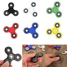 New Fidget Spinner Desk Anti Stress Finger Spin Spinning Top EDC Sensory Toys Cube Gifts for Children Kid BM88