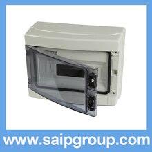 2014 Saip HA Series IP65 12Ways Plastic Power Electrical Distribution Box SHA-12WAYS