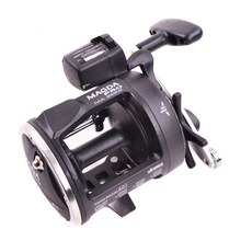 Okuma Magda MA20DX MA30DX MA45DX ---2BB Boat Reel Right Hand Trolling Fishing Reel With Electric Counting Real Drum Fishing Reel
