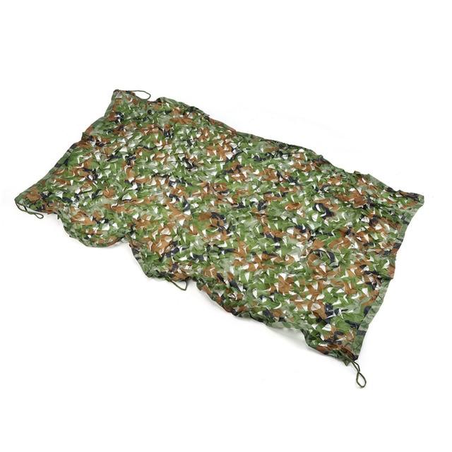 1 м х 2 м камуфляжная сеть военный охотничья сетка для кемпинга/камуфляжная сетка джунгли листья лесных деревьев камуфляж покрытие автомобиля сеть-накидка
