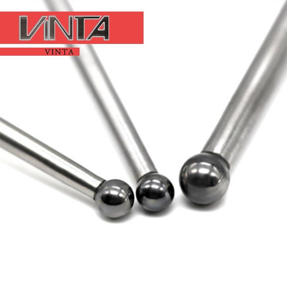 Tungsten Steel Splitting Ball For Spark Machine CNC EDM Ball Head Optical Edge Finder Magnetic Touch Point Sensor Probe Lever