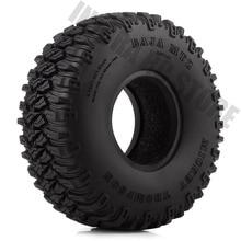 Pneus en caoutchouc de 1.55 pouces, 4 pièces de voiture RC, pneu de 1.55 pouces, pour Axial SCX10 90046 D90 TF2 Tamiya 1/10 RC chenille