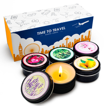 YINUO CANDLE 5PCS/Set Smokeless Scented Candles 100% Natural Soy Wax Aromatherapy Candle Prefect for Traveling Christmas Gift цена в Москве и Питере