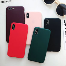 Funda de silicona suave para iPhone XS Max X XR iPhone 6 iPhone 6 6 S 5 S 4 S 5S 5SE 7 8 Plus funda trasera para teléfono móvil TPU ultrafina 6 Plus 7 Plus 8 Plus(China)