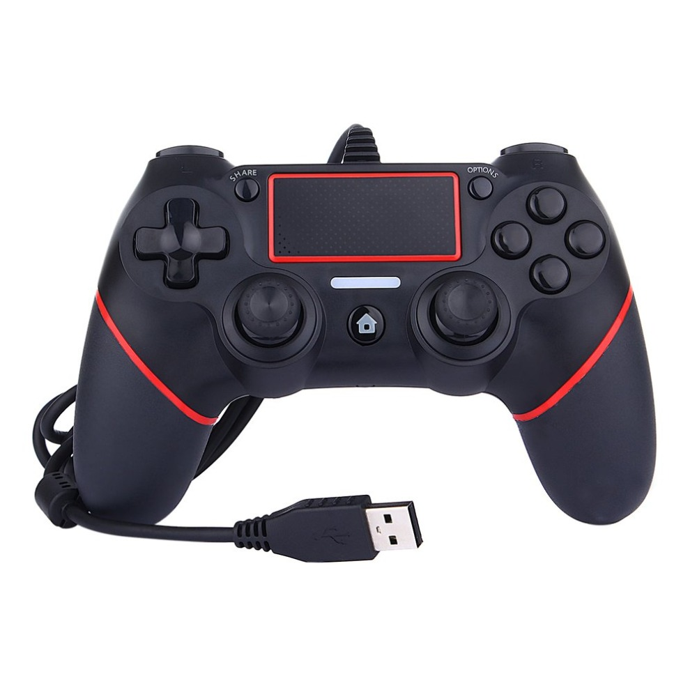For PS4 Controller Wired Gamepad For Playstation 4 Console PC Game Pad USB Play Gaming Gamepad Joystick Game Handle for PS4 ...