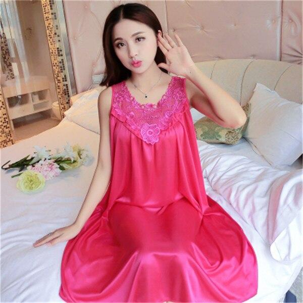 Hot Women Night Gowns Sleepwear Nightwear Long Sleeping Dress Luxury Nightgown Women Casual Night Dress Ladies Home Dressing Z79 24