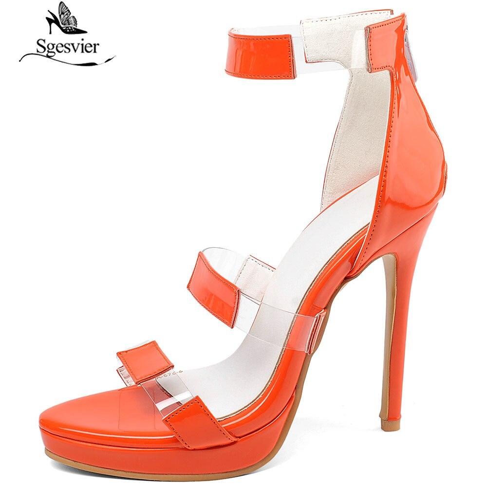 Sgesvier/Новые Женские Классические босоножки на высоком тонком каблуке; женские летние сандалии гладиаторы с открытым носком; недорогая обувь