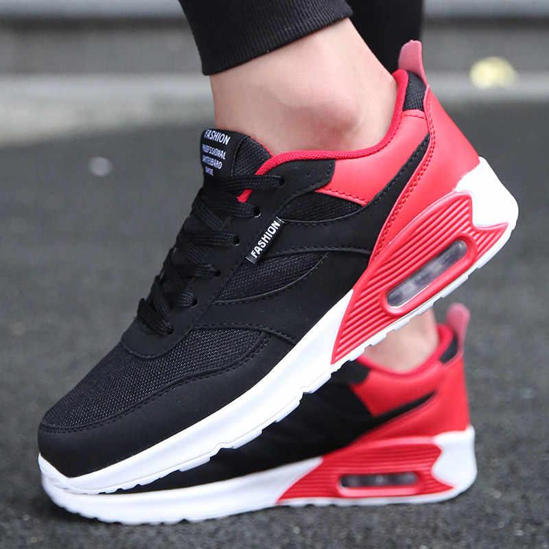 Hundunsnake aire zapatillas de deporte de malla hombre adulto los hombres calzado deportivo Zapatos Hombre Zapatos de deporte, zapatos Meskie Krasovki hombres cesta Homme 2018G-1
