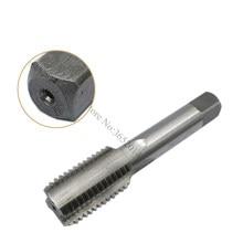 1 pc m27 reta flauta hss h2 torneira máquina parafuso métrica da torneira passo 3mm 1mm 2mm 1.5mm rosca direita torneira broca máquina ferramenta de metal