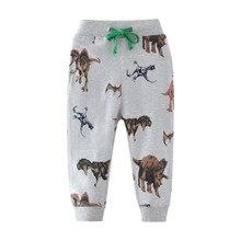 Boys Cotton Sweatpants Children Trousers Brand Autumn Winter Baby Clothes Boy Sweaterpants Character animals Print Kids pants