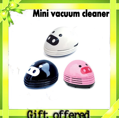 wholesale Lovely mini vacuum cleaner dust collector Free shipping