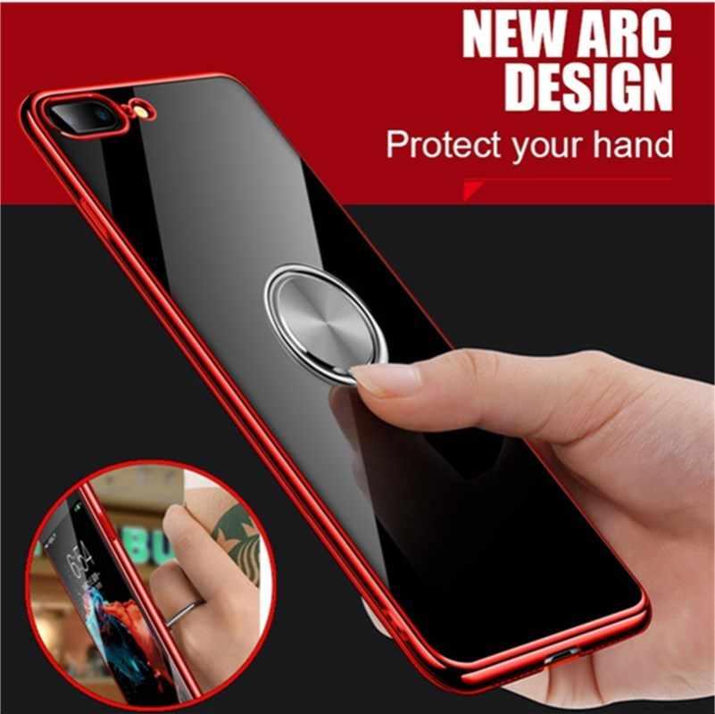 Jari Cincin Ponsel Stand Smartphone Holder untuk iPhone X 8 7 Plus Telepon Universal Socket Ipad Mobil Gunung untuk samsung Huawei