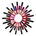 2016 hot Luxury Matte Lipstick Vampire Nude Grape Wine Colorful QiBest Soft Matte Lip Cream Lip Gloss Long-lasting