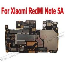 Globale Del Firmware Originale Elettronico mainboard Per Xiaomi RedMi Note5A hongmi Nota 5A Scheda Madre di sblocco Circuiti Tassa di Cavo Della Flessione