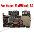 Globale Firmware Original Elektronische mainboard Für Xiaomi RedMi Note5A hongmi Hinweis 5A Motherboard entsperren Schaltungen Gebühr Flex Kabel