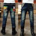 Весной и Осенью новый детская одежда мальчиков джинсы детские джинсы корейская версия большой мальчик мальчик джинсы брюки