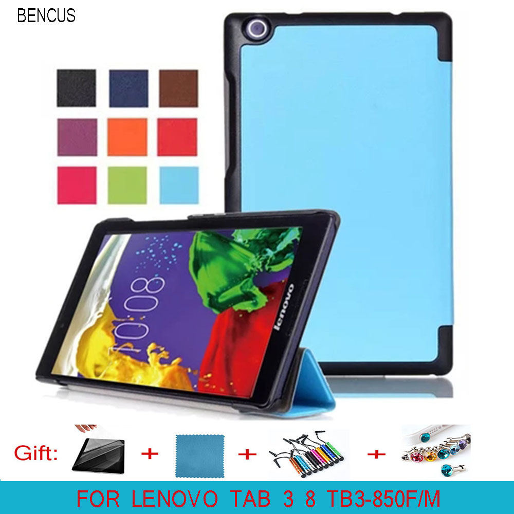 BENCUS Hot cover for Lenovo tab 3 8.0 Model TB3-850F/850M 2016 new tablet case for lenovo tab 3 8 case