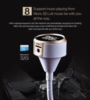 Kablosuz Bluetooth LCD FM Verici Modülatör Araç Kiti MP3 Çalar SD W/Uzaktan