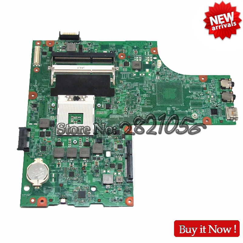 Nokotion CN-0Y6Y56 0Y6Y56 Main board For Dell Inspiron N5010 Laptop Motherboard HM57 DDR3 Socket pga989 48.4HH01.011 Tested nokotion for dell inspiron m301z n301z laptop motherboard cn 072wd6 072wd6 hm57 i5 470um cpu ddr3 hd5430 graphics