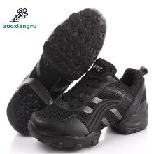 Rubber Sole Men Dance Shoes Breathable Sneakers Latin Jazz Shoes Dancing Sneakers Shoes Woman Dance Salsa Shoes цены онлайн