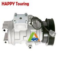 10pa17c compressor For 1998 1999 2000 Honda Accord V6 3.0L AC Compressor 38810P8AA01 1520946 4710188 4710198 38810 P8A A01 77341