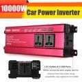 P eak 10000 Вт автомобильный солнечный инвертор постоянного тока 12 В в переменного тока 200-240 В Синусоидальная волна USB преобразователь напряжени...