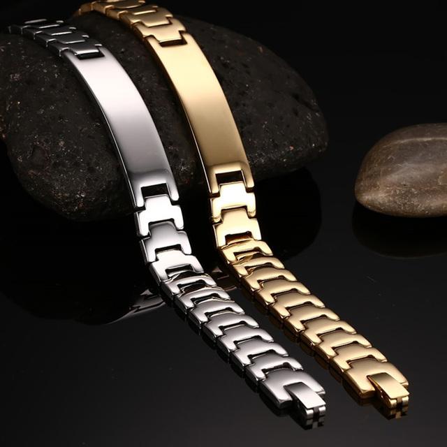 ID Charm Bracelets & Bangles Stainless