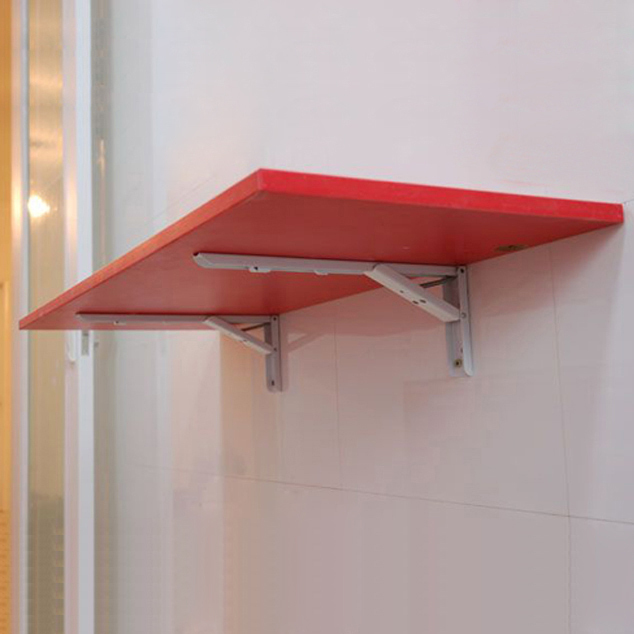Microwave Oven Wall Shelf Dish Washer Holder Foldable Iron