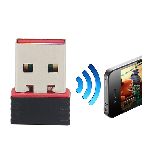 150Mbps Mini USB Adapter Wi-fi Receiver Wireless Network Card  802.11n High Speed USB Lan Ethernet  for PC Computer Network