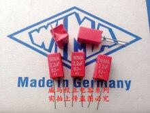 2019 hot sale 10pcs20pcs German capacitor WIMA 63V 22uF 63V 225 5P Spot can be knee-slapped Audio capacitor free shipping