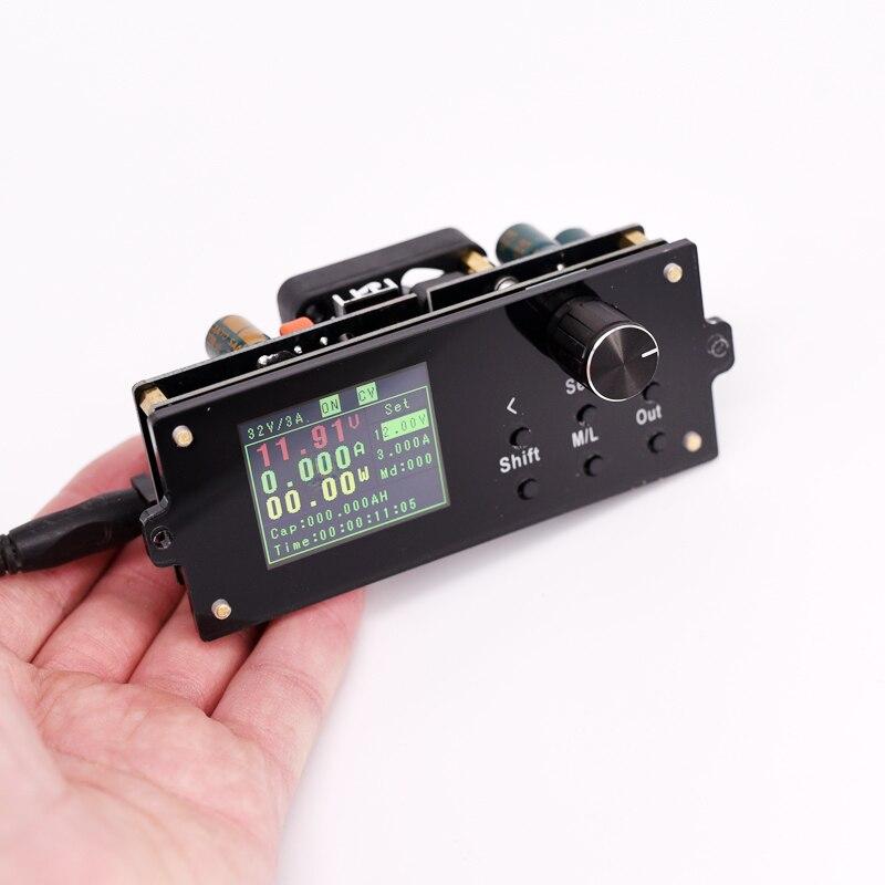 Module d'alimentation numérique réglable DC courant Constant et tension constante kit de bricolage écran couleur 3v5V12V