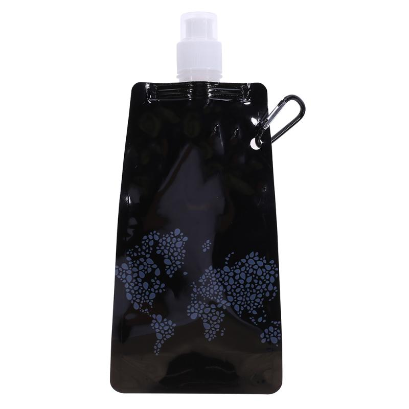 0.5L Water Bag Portable Folding Water Bottle Drinking Water Bags Outdoor Sport Running Camping Cycling Hiking Container Bags