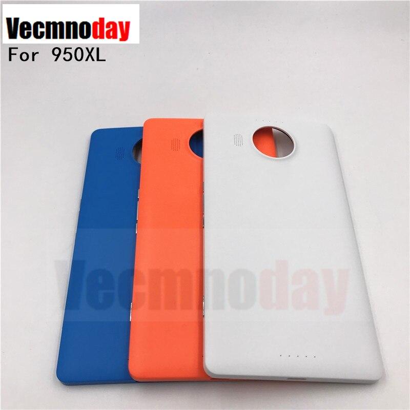 Vecmnoday оригинальный Стиль задняя крышка для Nokia Microsoft <font><b>Lumia</b></font> 950XL 950XL Батарея крышка Корпус дверь с боковой кнопки (без NFC)