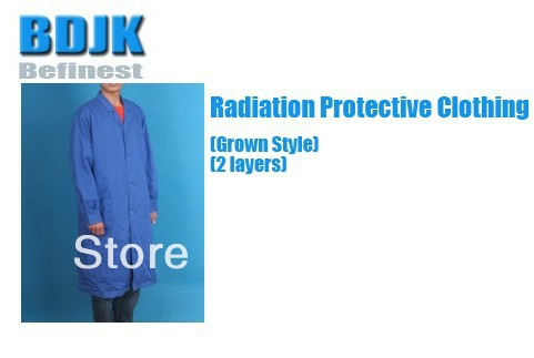 Radiation Protective Clothing with Metal Fibrosis Conductive Fabric 2 Layers
