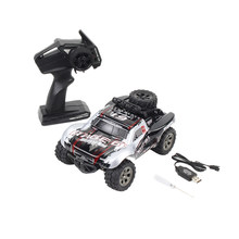 RC Auto 2.4Ghz High Speed Racing Car 1:18 Schaal 2WD Eletric Radio Control Truck Off-Road Voertuig Elektronische speelgoed (Zilver Of Rood)(China)