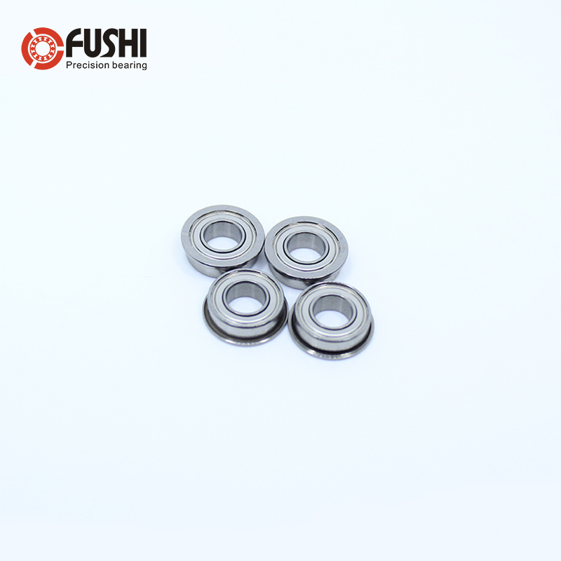 SF694ZZ Flange Bearing 4x11x4 Mm 10PCS Double Shielded Stainless Steel Flanged SF694 Z ZZ Ball Bearings SF694Z SF694-2Z F694 ZZ